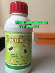 CLOMIFOS 20EC Thuốc diệt Mọt , Diệt ruồi , muỗi côn trùng giá rẻ