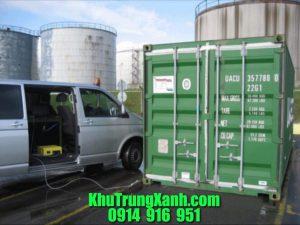 Khử trùng Container , Hun trùng Container hàng hóa xuất khẩu
