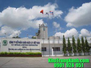 Khử trùng , Phun côn trùng nhà máy thức ăn chăn nuôi C.P Đồng Nai