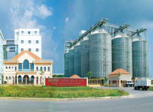 Khử trùng Silo , Bin nhà máy lúa mì Việt Nam VFM và Lúa mì Mekong
