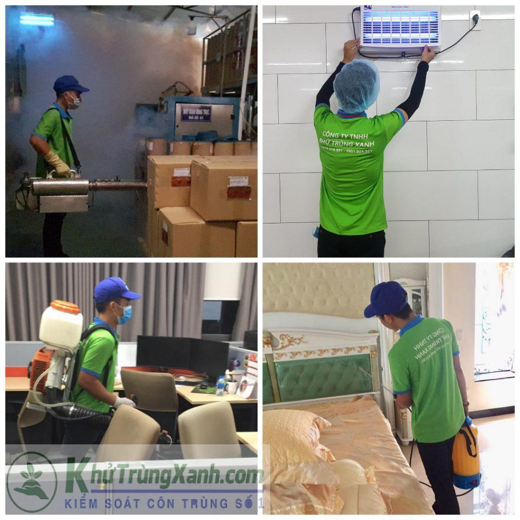 Công ty dịch vụ diệt côn trùng tại Nghệ An