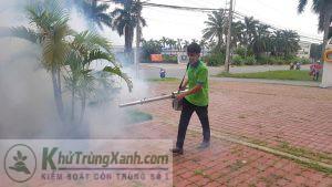 Phun khói diệt côn trùng