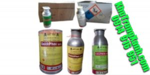 Thuốc khử trùng kho hàng – thuốc khử trùng quickphos56% – Khử Trùng Xanh