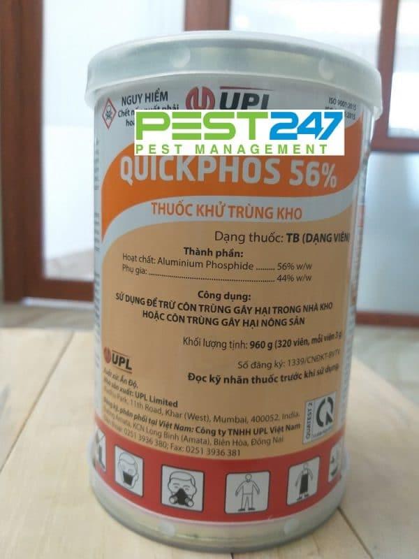 Thuốc khử trùng kho Quickphos56-1