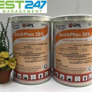 Thuốc khử trùng kho Quickphos56