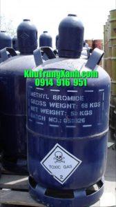 Thuốc khử trùng Metyl Bromide 98% – Thuốc hun trùng – Khử Trùng XANH