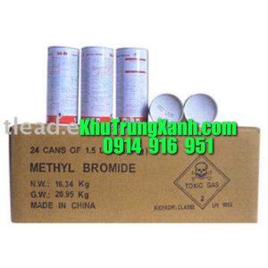 Thuốc khử trùng metyl bromide 98% – Thuốc diệt côn trùng Metyl Bromide