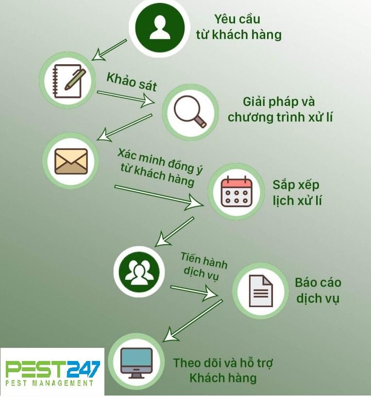 Quy trình tiếp nhận thông tin