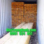 Khử Trùng , Hun trùng Container gỗ tại Công ty Bình Phú - Bình Dương
