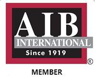 Thành viên chính thức của TỔ CHỨC ĐÁNH GIÁ AN TOÀN THỰC PHẨM QUỐC TẾ – AIB International