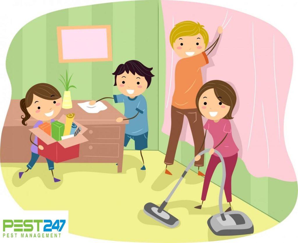 Cách đuổi ruồi - Dọn dẹp nhà cửa