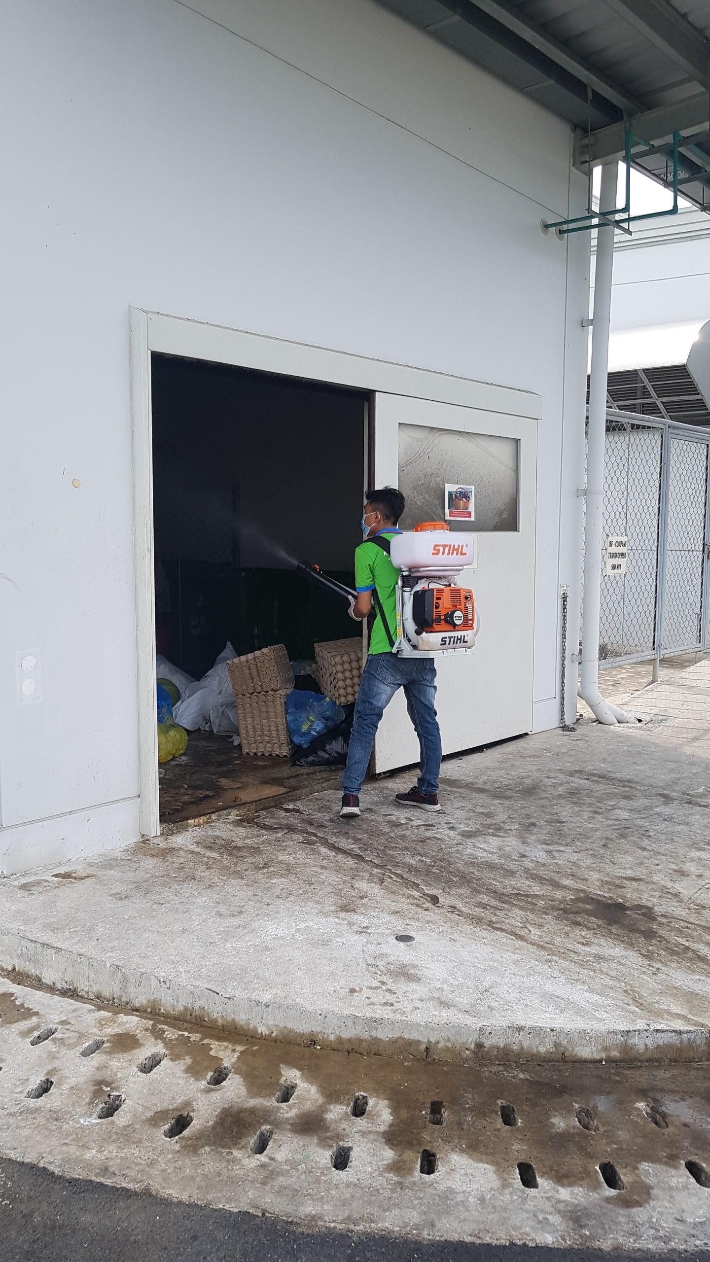 Dịch vụ diệt côn trùng tại Hội An