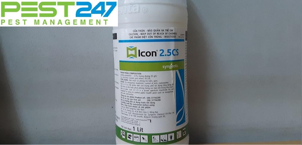 Thuốc đuổi muỗi Icon 2.5 CS