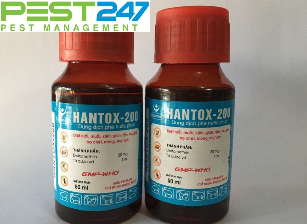 Thuốc đuổi muỗi Hantox 200