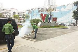 VTV - Kiểm soát côn trùng cho đài truyền hình Việt Nam VTV