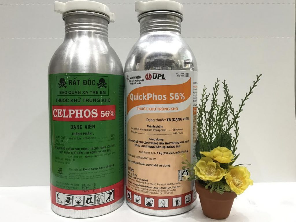 Thuốc khử trùng kho celphos 56 -2