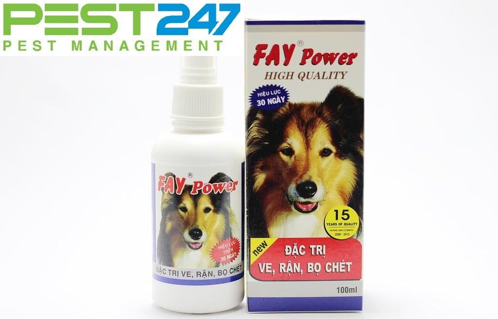 Thuốc diệt bọ chét Fay Power