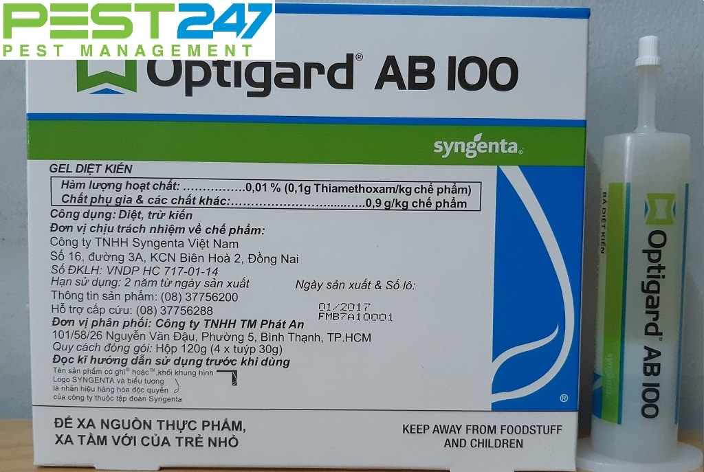 Thuốc trị kiến Optigard AB 100