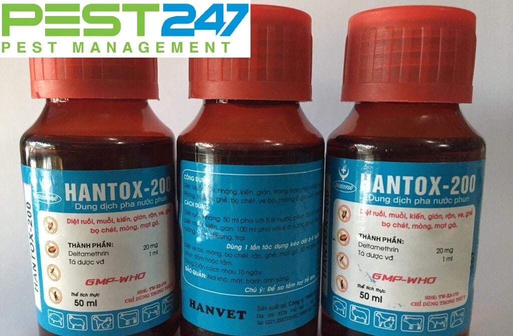Thuốc trị kiến Hantox