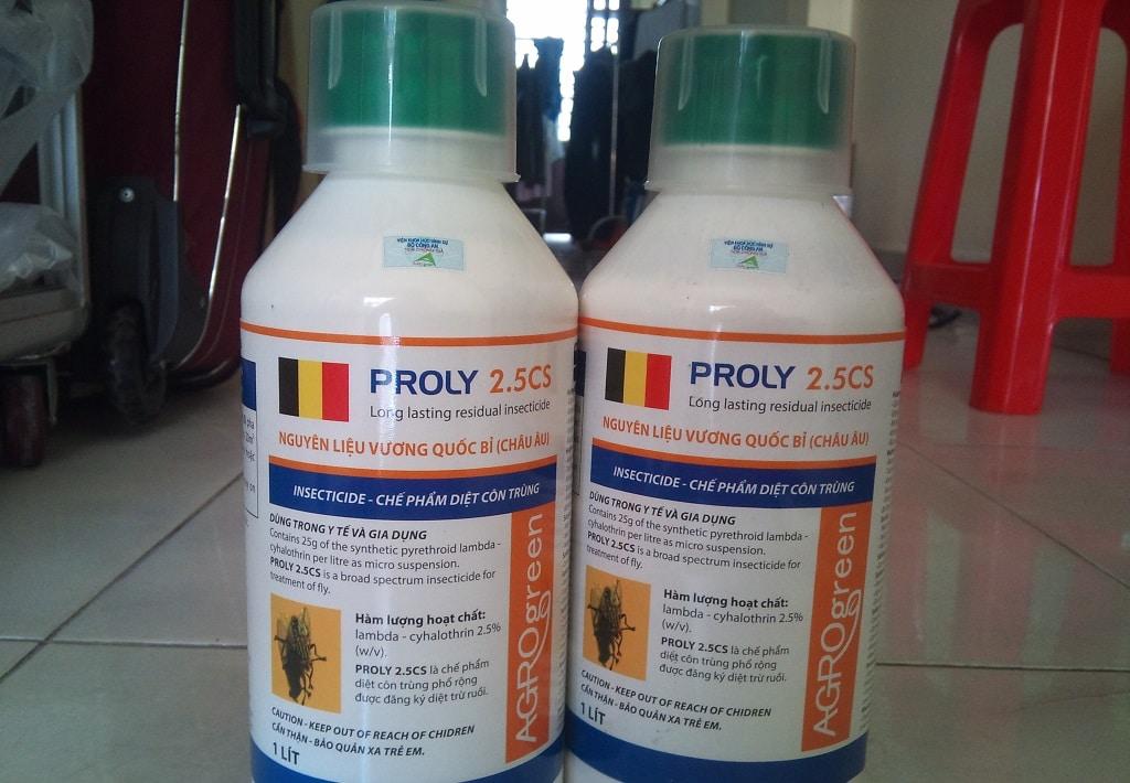 Thuốc diệt ruồi Proly 2.5CS
