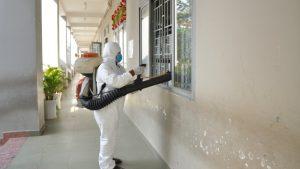 Công ty dịch vụ phun thuốc khử trùng khử khuẩn sát trùng phòng dịch