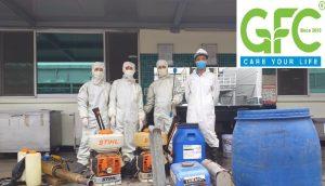 Công ty phun thuốc khử trùng diệt khuẩn phòng chống Covid 19