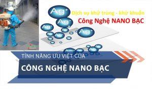 Dịch vụ phun khử trùng khử khuẩn diệt khuẩn công nghệ Nano Bạc