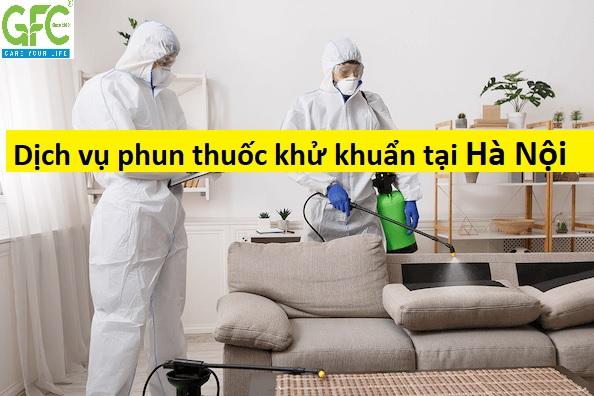 Dịch vụ phun khử khuẩn tại nhà , văn phòng uy tín ở Hà Nội