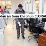 Sau bao lâu có thể sử dụng được khi phun thuốc Cloramin B để an toàn ?