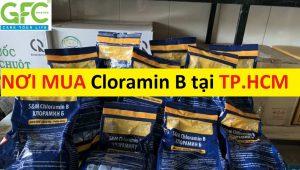 Nơi bán , địa chỉ mua thuốc Cloramin B khử trùng tại TP.HCM giá rẻ