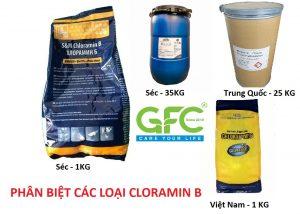 các loại cloramin b