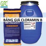 Bảng giá thuốc phun khử trùng CLORAMIN B Séc, Trung Quốc,Việt Nam