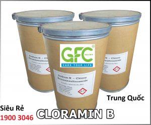 thuốc khử trùng khử khuẩn cloramin B trung quốc 25kg